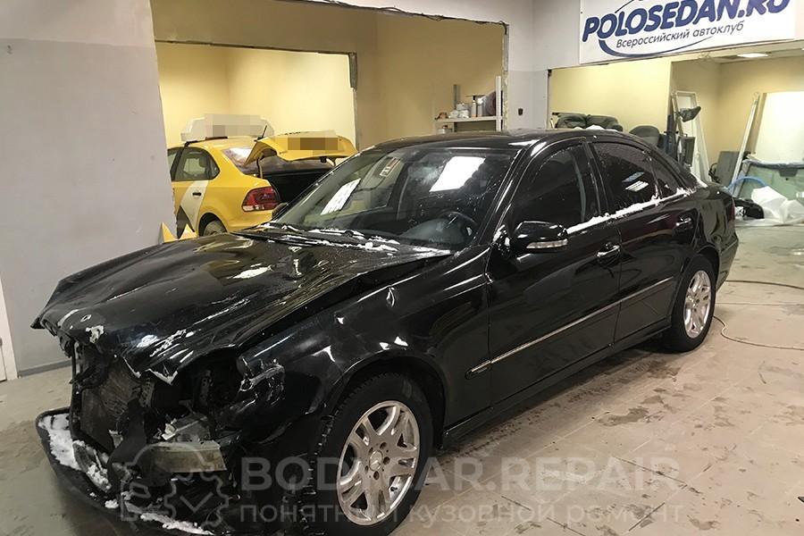 Кузовной ремонт автомобиля Mercedes-Benz