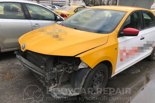 Ремонт кузова автомобиля Skoda Rapid