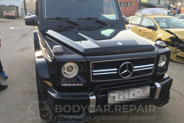 Ремонт кузова автомобиля Mercedes G-Class (Гелендваген)