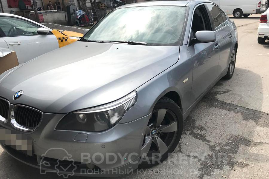 Ремонт и покраска деталей кузова BMW 5 Series 525