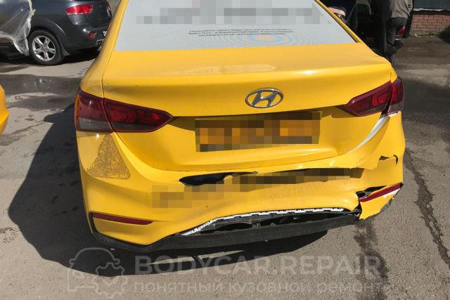 Ремонт кузова Hyundai Solaris