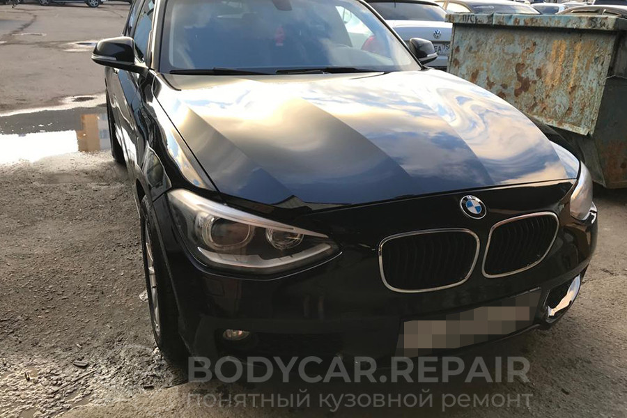 Замена, ремонт и покраска деталей кузова BMW