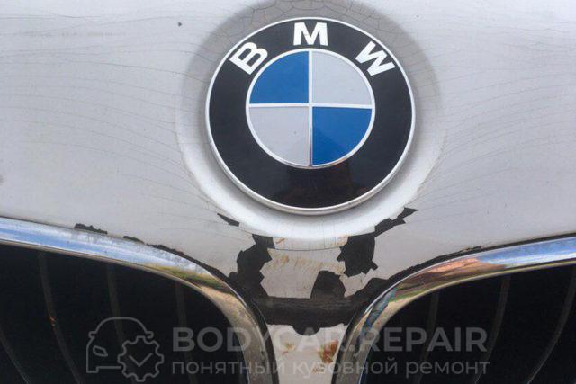 Ремонт и покраска деталей кузова BMW