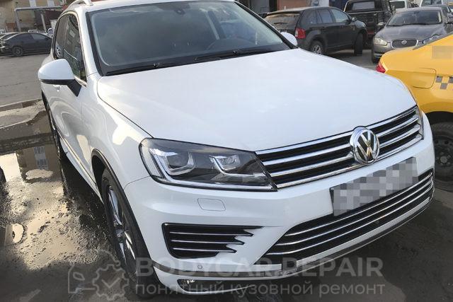 Ремонт и покраска деталей кузова VW Touareg