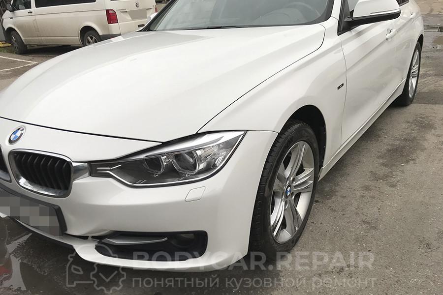 Ремонт крыла и бампера BMW