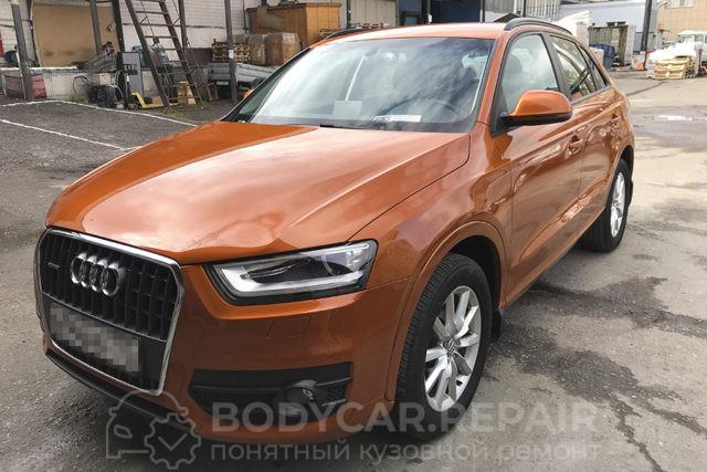 Ремонт и покраска деталей кузова Audi Q3