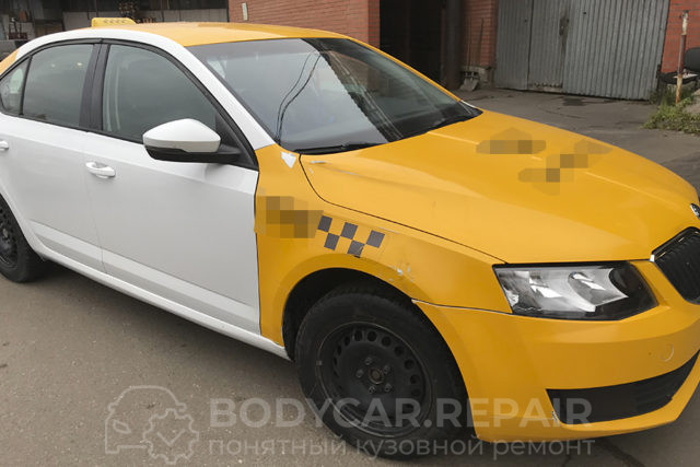 Ремонт кузова Skoda Octavia