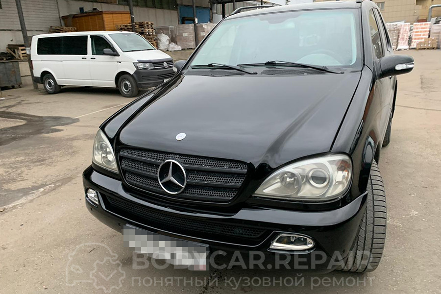 Ремонт капота Mercedes-Benz ML500