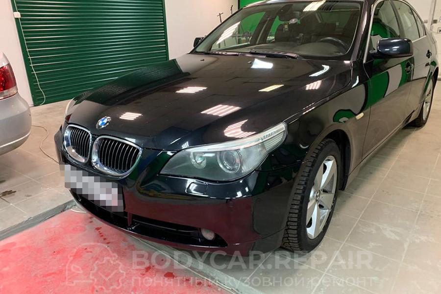 Ремонт деталей кузова BMW