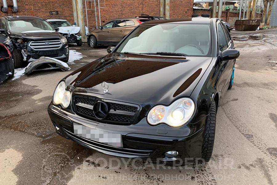 Ремонт кузова автомобиля Mercedes Benz