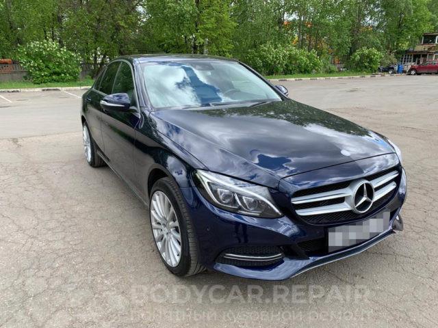 Ремонт кузова Mercedes Benz с покраской деталей