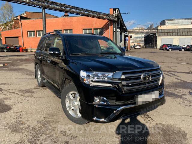 Кузовной ремонт автомобиля Toyota Land Cruiser