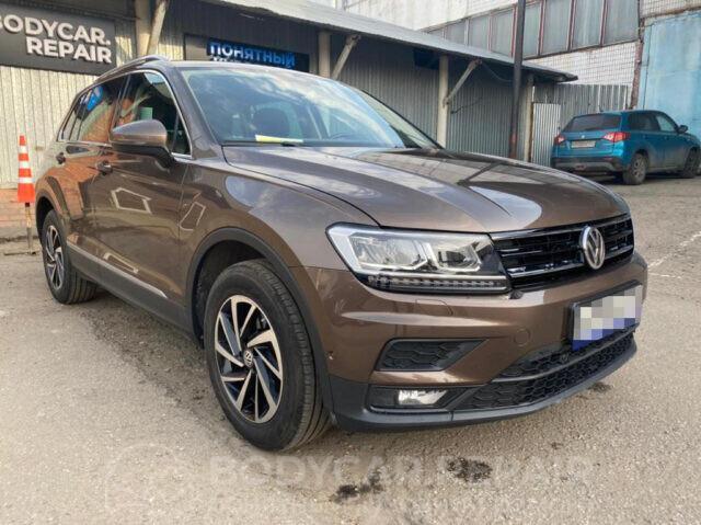 Ремонт кузова автомобиля Volkswagen Tiguan