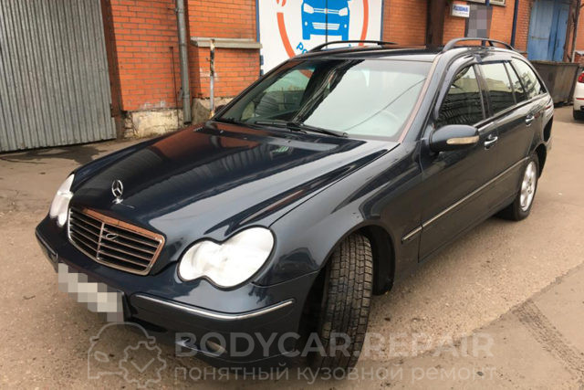 Ремонт кузова Mercedes Benz C220