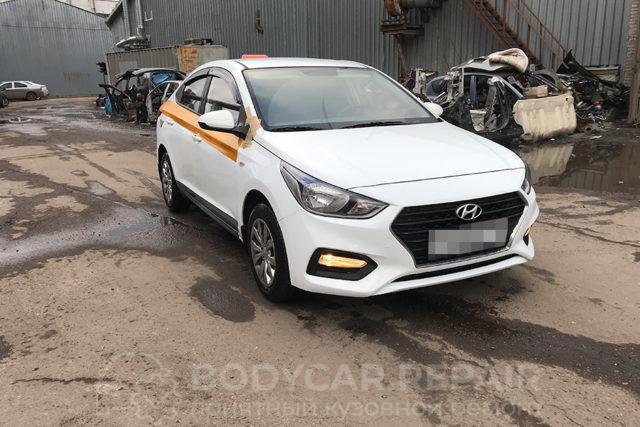 Кузовной ремонт автомобиля Hyundai Solaris