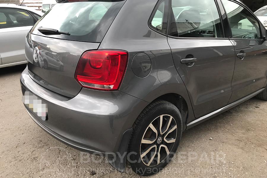 Ремонт заднего крыла VW Polo хэтчбек