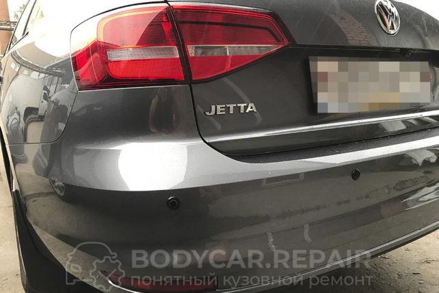 Замена заднего бампера Volkswagen Jetta