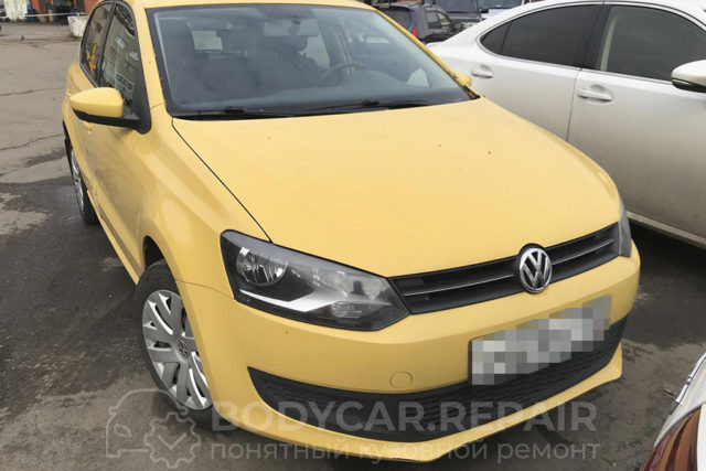 Ремонт дверей и порога VW Polo хэтчбек
