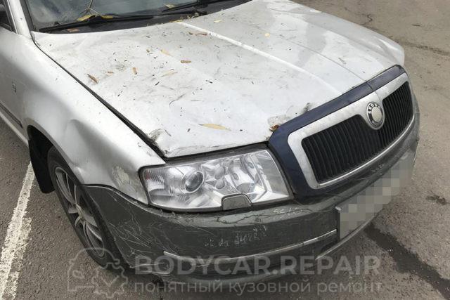 Ремонт кузова автомобиля Skoda Superb