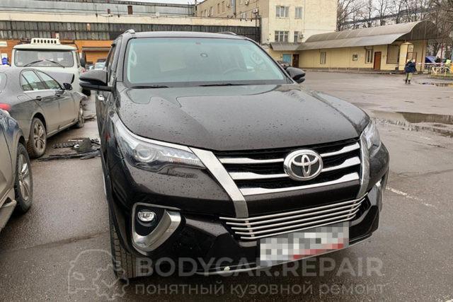 Ремонт кузова автомобиля Toyota Fortuner