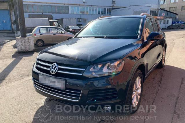 Ремонт и покраска деталей кузова Volkswagen Touareg